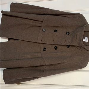NWOT- Brown LOFT Coat